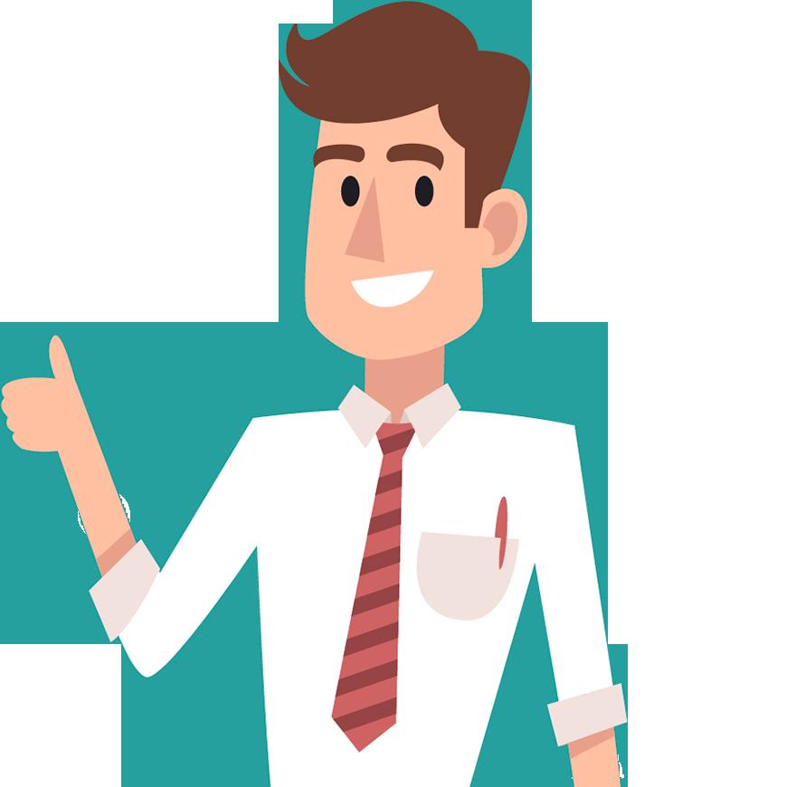 señor con camisa y corbata